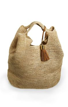BEACH BAG Heidi Klein Straw Bag