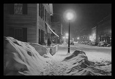 Snowy Night in Woodstock, Vermont