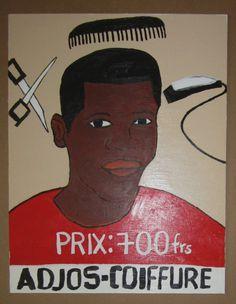 African Barber Shop Sign Ref Pac   eBay