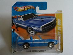 2011 - FORD Mustang ´1969 Shelby GT 500 Convertible (Hot Wheels)