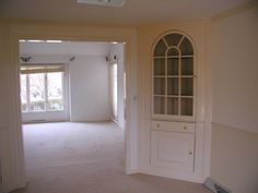 Favorable Dining Room Corner China Cabinet