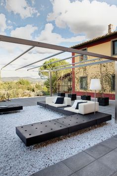 HAPPYLIFE - Designer Sofas from Slide ✓ all information ✓ high-resolution images ✓ CADs ✓ catalogues ✓ contact information ✓ find your nearest. Pallet Furniture, Outdoor Furniture, Outdoor Decor, Furniture Ideas, Sofa Design, Outdoor Spaces, Outdoor Living, Contemporary Outdoor Sofas, Modular Structure