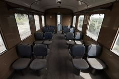 It may not be travel at its most luxurious, but this abandoned train and defunct…