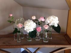 Cotswolds wedding Hydrangea and peonies wedding www.longlevensflower.co.uk created and designed by us here at Longlevens Flowers Hydrangea, Tablescapes, Summer Wedding, Peonies, Bouquet, Weddings, Bride, Create, Flowers