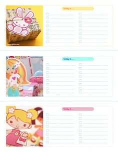 """I have included a bunch of freebies below ^_^ I have a love for Kawaii style (Kawaii means """"cute"""" in japanese) — so I could not resist including free printables that include this wonderful, playful style. You will need Adobe Acrobat or any PDF file reader. You can download Adobe Acrobat for free at www.adobe.com. […]"""