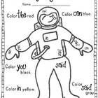 kindergarten sight word coloring pages - Yahoo Image Search Results Preschool Sight Words, Teaching Sight Words, Sight Word Practice, Community Helpers Kindergarten, Community Helpers Worksheets, Kids Worksheets, Sight Word Coloring, Sound Words, Classroom Activities