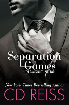 """CD Reiss writes the best erotica I have ever read."" ~ Meredith Wild, New York Times bestselling author of The Hacker Series Separation Games (The Games Duet by CD Reiss Publicat… New Romance Books, Romance Movies, Books To Read, My Books, Book Review Blogs, Reiss, Free Books, Bestselling Author, Erotica"