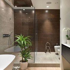 Banheiro com cara de spa, um sonho!