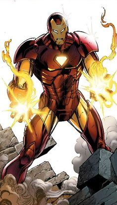 Iron Man Armor Model 29 by Mark Bagley