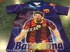 For Sale - FCB Barcelona Lionel Messi Soccer Futbol Graphic Shirt Men's Size Small - See More at http://sprtz.us/BarcelonaEBay