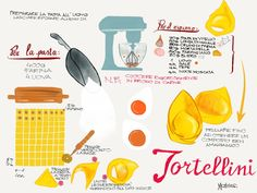 Tortellini made with Paper