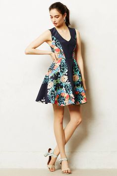 Garden Tightrope Dress - anthropologie.com