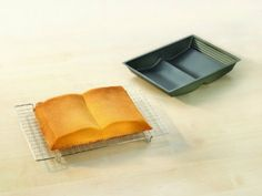 Want to make a book-shaped cake? There's a pan for that!