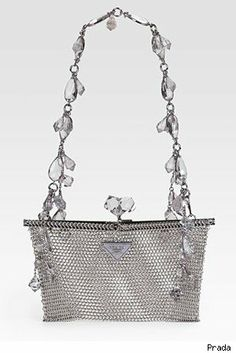 Prada Rete Metal Evening Bag