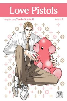"Love Pistols, Vol. 3 (Yaoi Manga):   p class=""p1""Shima Tokashiki is a Mongoose, so it would be totally natural for him to hate the Viper, Dr. Aogiri. Yet they've known each other since high school, despite their parents' disapproval. When Aogiri transfers to the hospital where Shima works, they quickly end up as roommates as well as friends with benefits. And despite his natural animosity towards snakes, Shima can't help wishing for something more from this hot doctor./p"