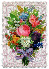 Victorian Flower Bouquet