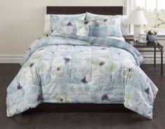 Magnolia 5 Piece Script Comforter Set
