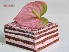 Bibimoni Receptjei: Flamingó mézes krémes Hungarian Recipes, Hungarian Food, Vanilla Cake, Food Photography, Decorative Boxes, Food And Drink, Sweets, Cookies, Baking