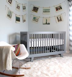 Stories from Porter: Baby Cave featuring Babyletto's Hudson Crib in Gray! <3