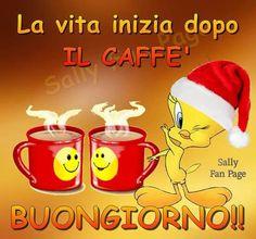 Buongiorno e un caffè