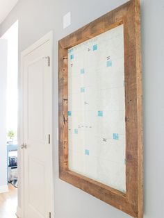 DIY: Create an Oversized Frame! Easier, much cheaper, and takes just an afternoon to assemble.