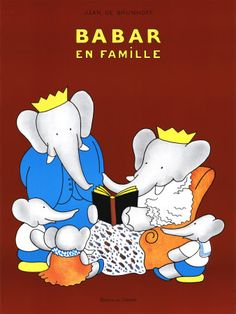 Babar ... A great read with My grandkits