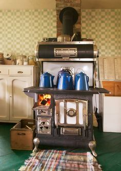 Beautifully Restored Stove Antique Kitchen Stovesantique