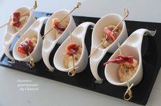 Mousseline céleri coco au poivre de Penja et magret séché