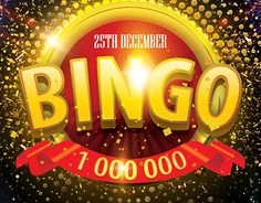 """Check out new work """"Bingo PSD Flyer Template"""" #Bingo #event #game"""