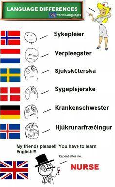 Nurse, please... Friend Please, My Friend, Always Alone, World Languages, Learn English, Playing Cards, Funny Memes, Geek Stuff, Make It Yourself