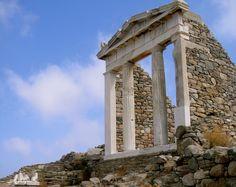 Island of Delos, near Mykonos