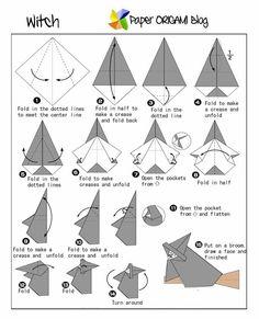halloween origami - Google Search