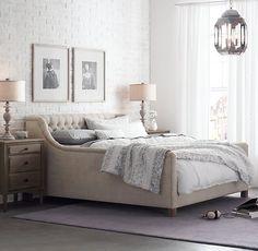 RH - Devyn Tufted Upholstered Bed
