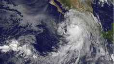 09/06/2016 - Hurricane Newton makes landfall on Mexico's Pacific coast