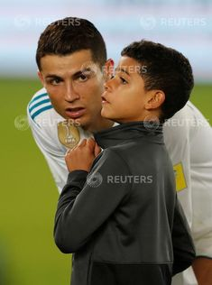The World's Most Hated: Photo Cristiano Ronaldo Style, Cristiano Ronaldo Quotes, Cristiano Ronaldo Juventus, Cristiano Ronaldo Cr7, Cr7 Jr, Father And Son, Messi, Real Madrid, Cool Photos
