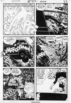 Alex Toth Black Canary Adventure 419 pg 7, in GaryLand's Alex Toth Memorial Gallery Comic Art Gallery Room - 573750