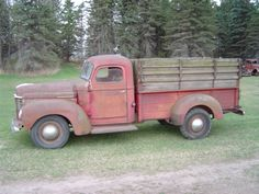 1947 International Harvester KB3  1947 International One Ton Pickup !