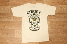 Obey Chronic Basic Tee Natural £29.95
