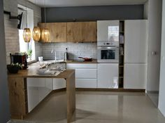 Almost Perfect Kitchen // Kuchnia bliska ideału Kitchenette, Apartment Interior, Home Decor Inspiration, Kitchen Storage, Kitchen Design, Kitchen Ideas, Interior Design, House Styles, Furniture
