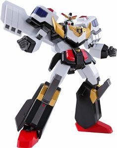 "Amazon.com : Bandai Tamashii Nations J-Decker ""Brave Police J-Decker"" Super Robot Chogokin Action Figure : Super Robot Chogokin Brave Police..."