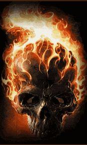 Crânios De Fogo