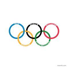 parodies de logo jeux olympiques   Parodies de logo par Maentis   tumblr photo parodie marque maentis logo image