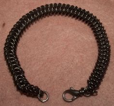 Dronningkjeder bracelet in 935 oxidized silver, handmade by me