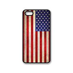 Vintage Flag Of USA iPhone 4/4S Hard Case / 0014 by StylishCase, $10.99