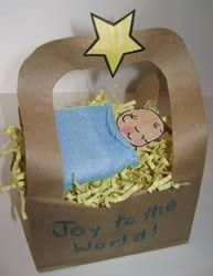 preschool crafts pics christmas jesus paper bag - Bing Images