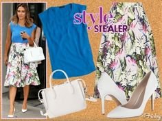 #Style Stealer: Jessica Alba Heads For The Tropics