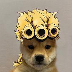 Read josuke from the story cursed jojokes by okuyasuu (jojo ; Gato Anime, Me Anime, Anime Manga, Jojo Songs, Jojo's Bizarre Adventure Anime, Dog Icon, Jojo Memes, Anime Animals, Kawaii
