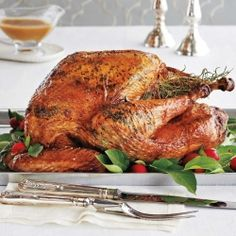 Turkey math: How much turkey per person and roasting guide. Also links to recipes for left overs, side dishes etc