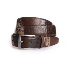 Various genuine leather skins patchwork belt. Made in Florence by Italian artisans at Alligator Line. #djante.com Leather Skin, Florence, Artisan, Belt, How To Make, Accessories, Fashion, Scrappy Quilts, Belts