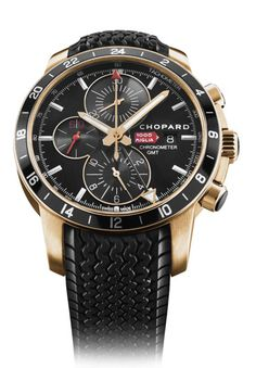 Chopard Mille Miglia 2012 GMT Chronograph Rose Gold #watches